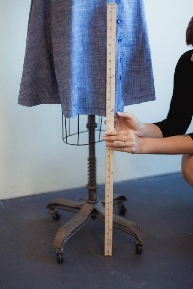 Как Выровнять Низ Платья Без Манекена