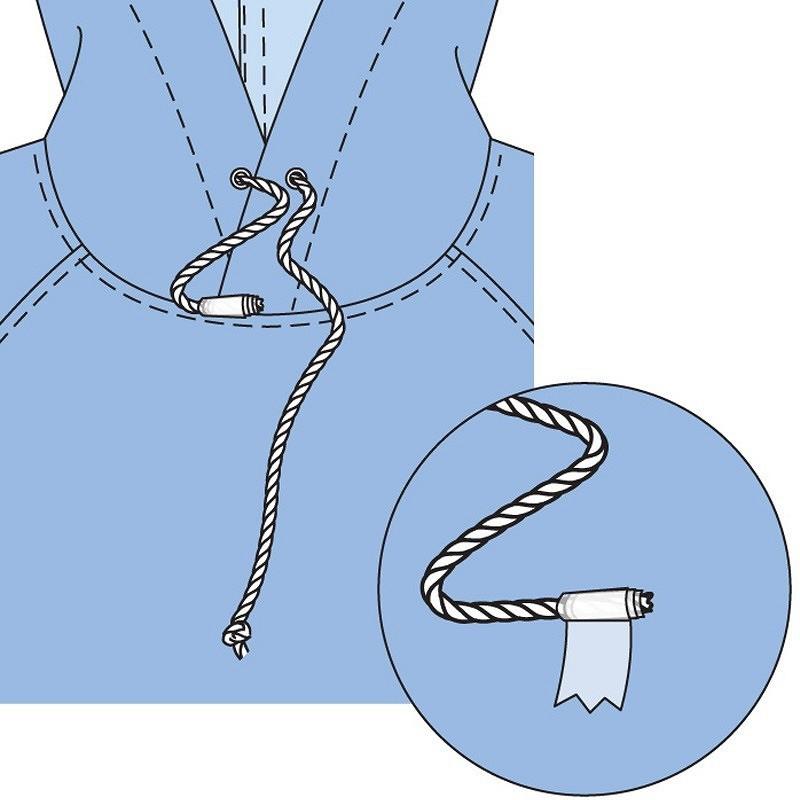 Лайфхак: как спомощью скотча вдеть шнур вкулиску