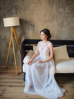 Работа с названием Изящная невеста