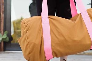 Большая спортивная сумка без выкройки: мастер-класс