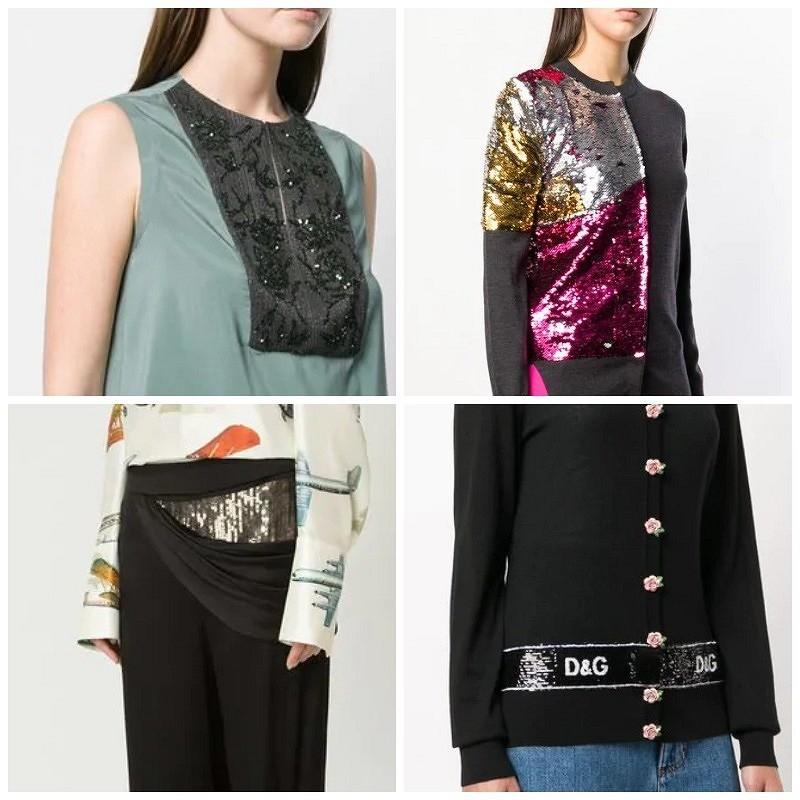 Декорируем пайетками одежду иаксессуары: 10 идей