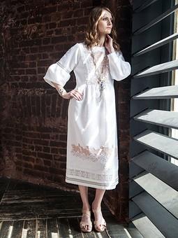 Работа с названием Платье из коллекции «Богема в городе»