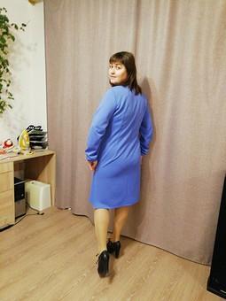 Работа с названием Выходное вдохновенье#платье на каждый день