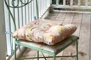 Как сшить подушки на стулья: 4 мастер-класса