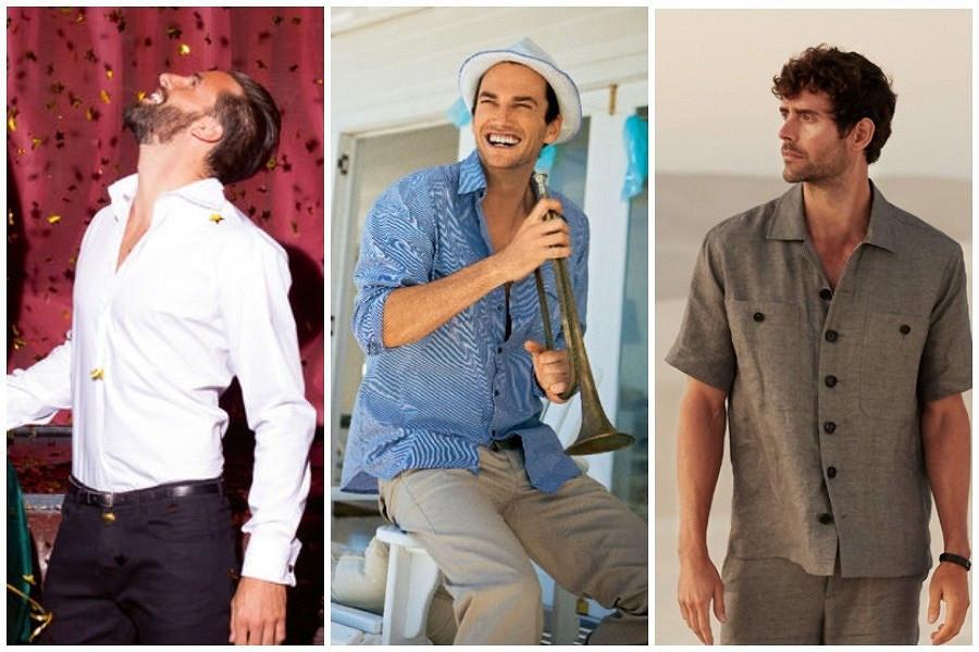 От классики доспорта: 17 выкроек мужских рубашек
