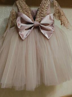 Работа с названием платье для малышки