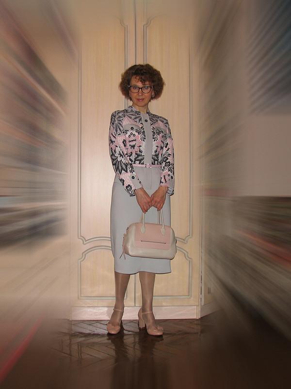 Ретро-платье.