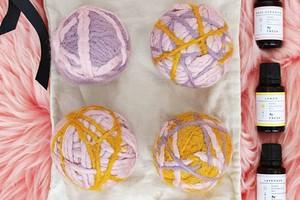 Шерстяные шарики для стирки: зачем они нужны и как их сделать