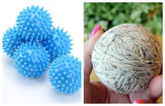 Шерстяные шарики длястирки: зачем они нужны икак их сделать