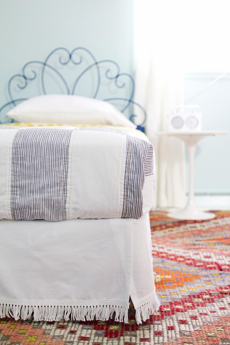 Юбка-подзор длякровати: мастер-класс
