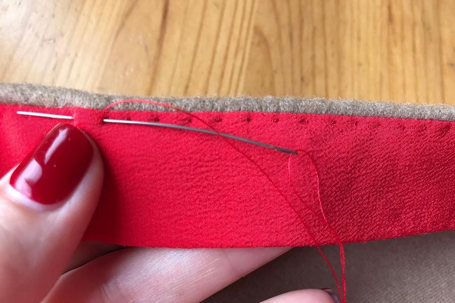 Декоративная обработка низа изделия: «неправильная» подгибка