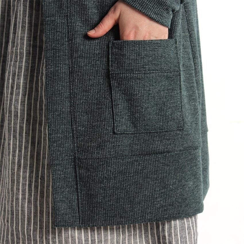 Лайфхак: как ровно пришить накладной карман изтрикотажа