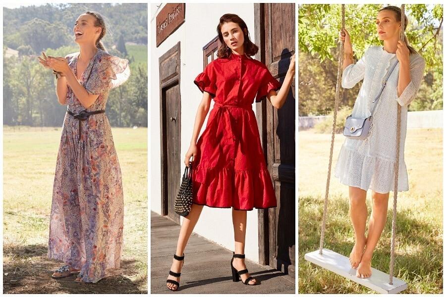 Весенние илетние платья соборками иволанами: 12 выкроек