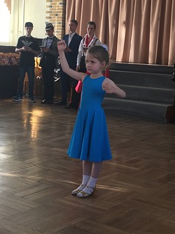 Работа с названием Первое Рейтинговое платье  для танцев