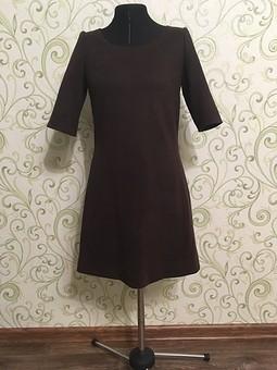 Работа с названием Замшевое платье на молнии