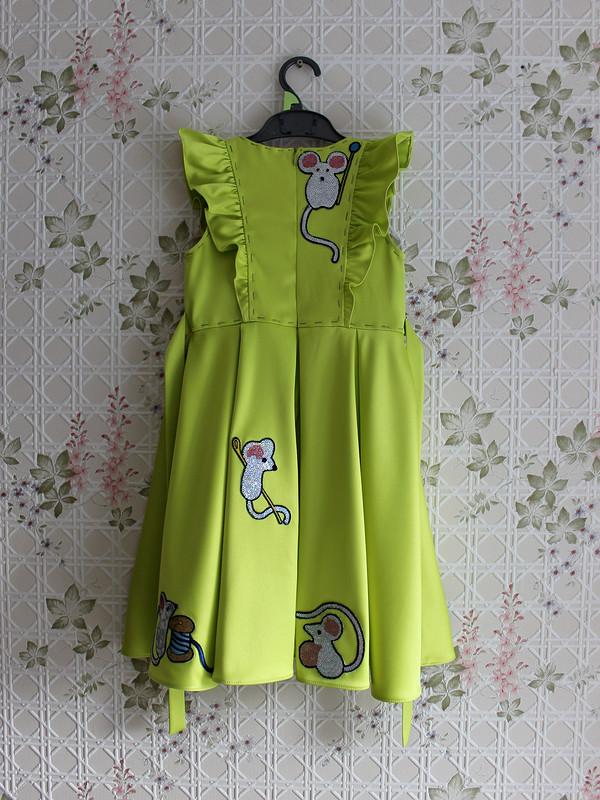 Детское платье смышками dolce gabbana от hrom2483