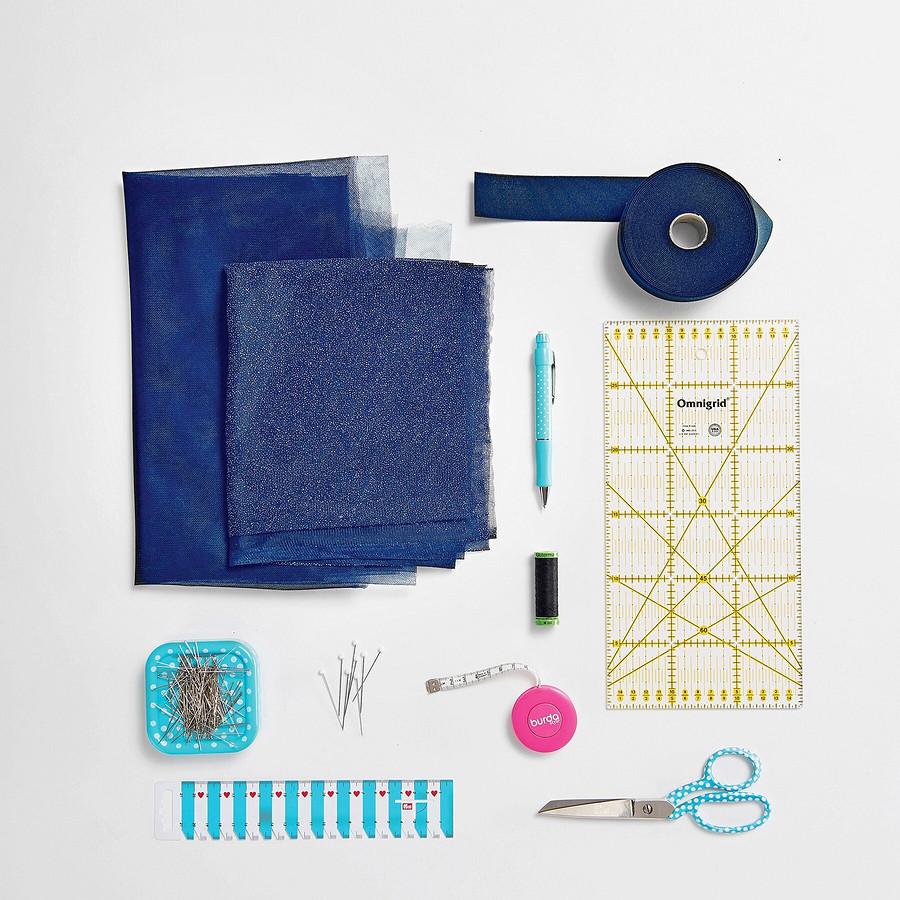 Как сшить юбку изтюля вбалетном стиле