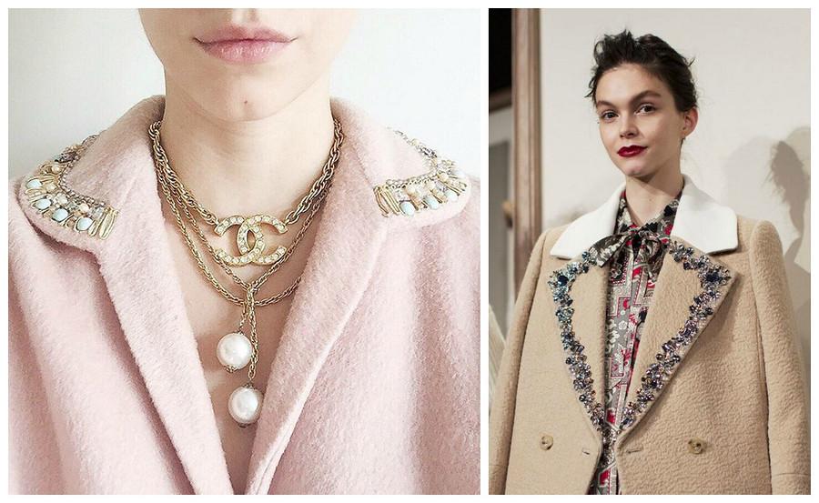 Вдохновение: как декорировать пальто
