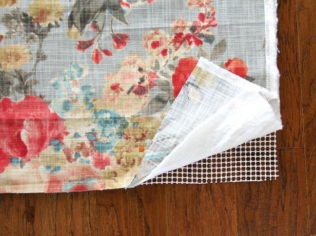 Простой тканевый коврик: 3 варианта смастер-классами