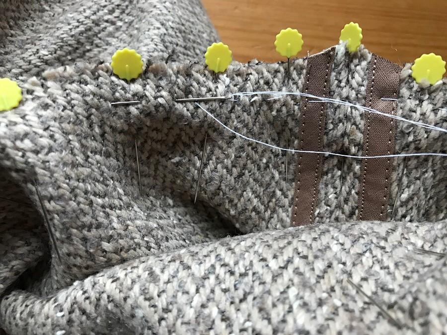Пальто издвухсторонней шерстяной ткани: особенности обработки припусков исрезов