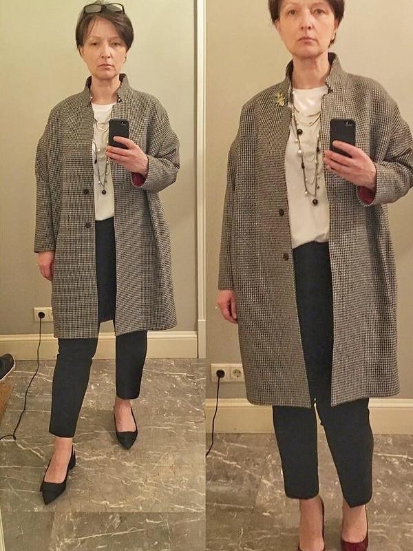 Популярное пальто. Повтор от bebeka
