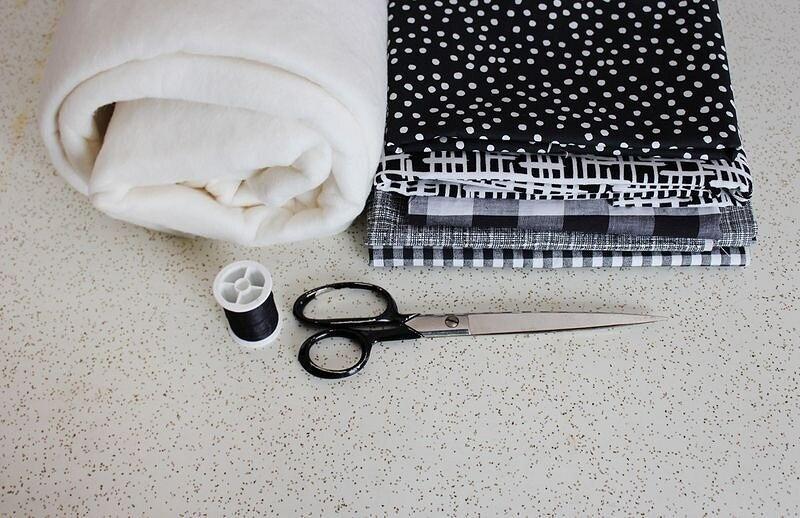 Простое одеяло влоскутной технике: мастер-класс