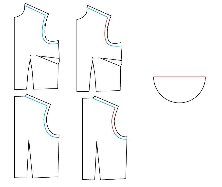 Как сделать рукава-крылышки: мастер-класс