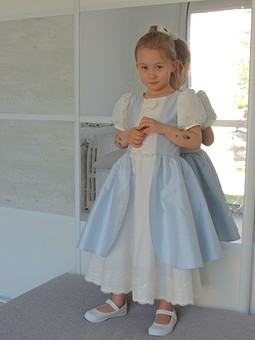 Работа с названием Настоящее платье принцессы