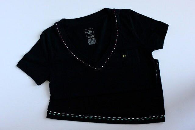 Идея: футболка свышивкой мулине