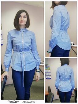 Работа с названием Блуза 4/2018