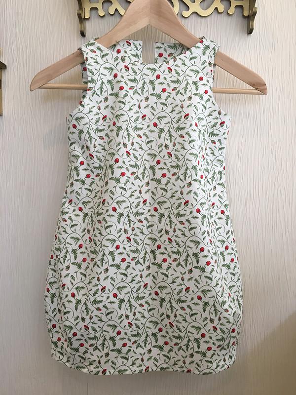 Платье баллон вцветочек