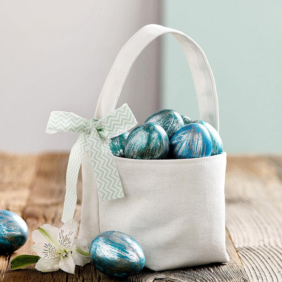 Пасхальная корзинка изфетра ихолщёвая сумочка своими руками