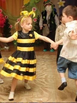 Работа с названием Костюм пчелки