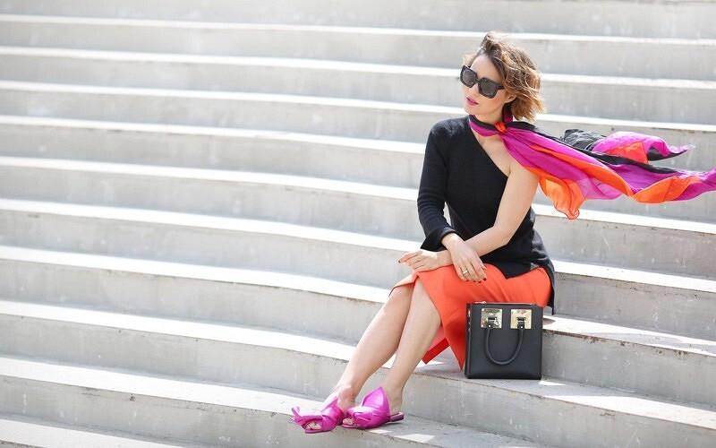 Как перестать беспокоиться иначать носить яркие цвета