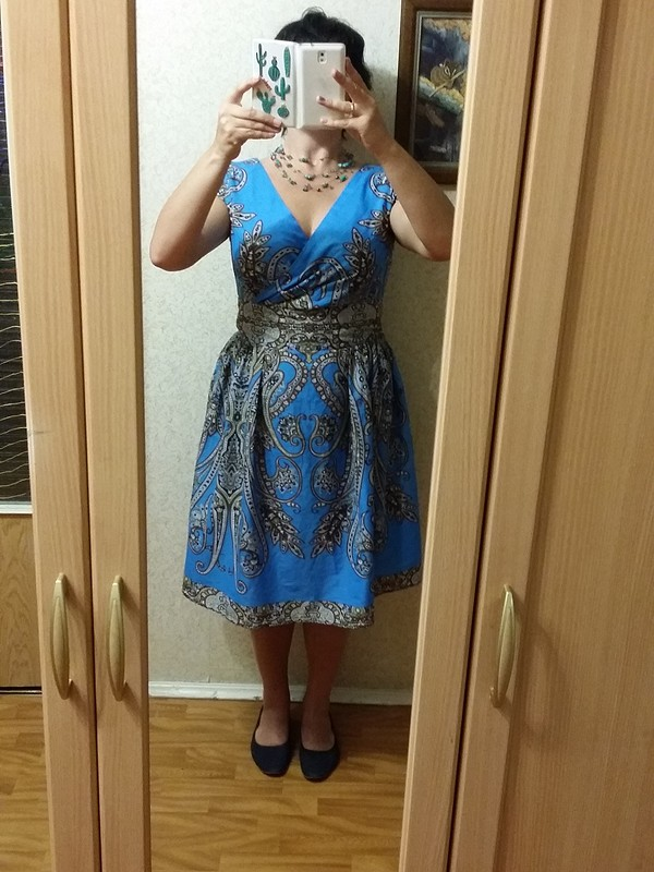 Платье изкупона
