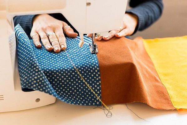 Летний клатч изостатков ткани: мастер-класс