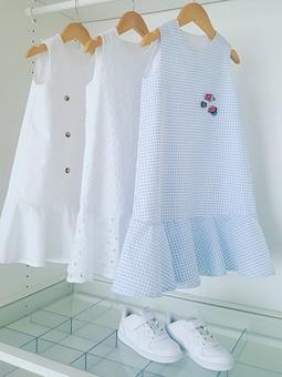 Работа с названием Платье для дочки.