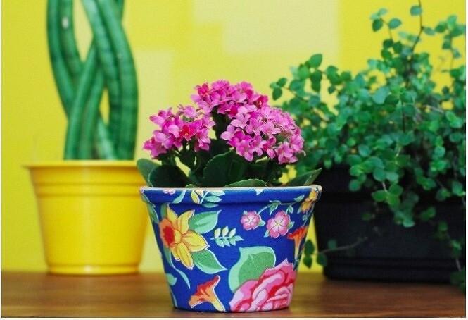 Как украсить цветочный горшок: 12 идей декора синструкциями