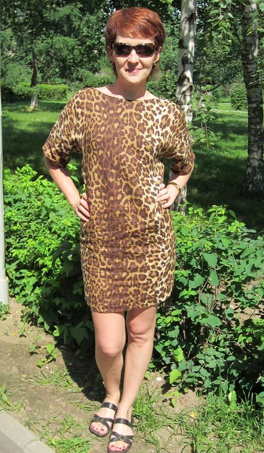 Самое популярное платье-мешочек отBurda