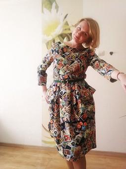 Работа с названием Платье в марочку