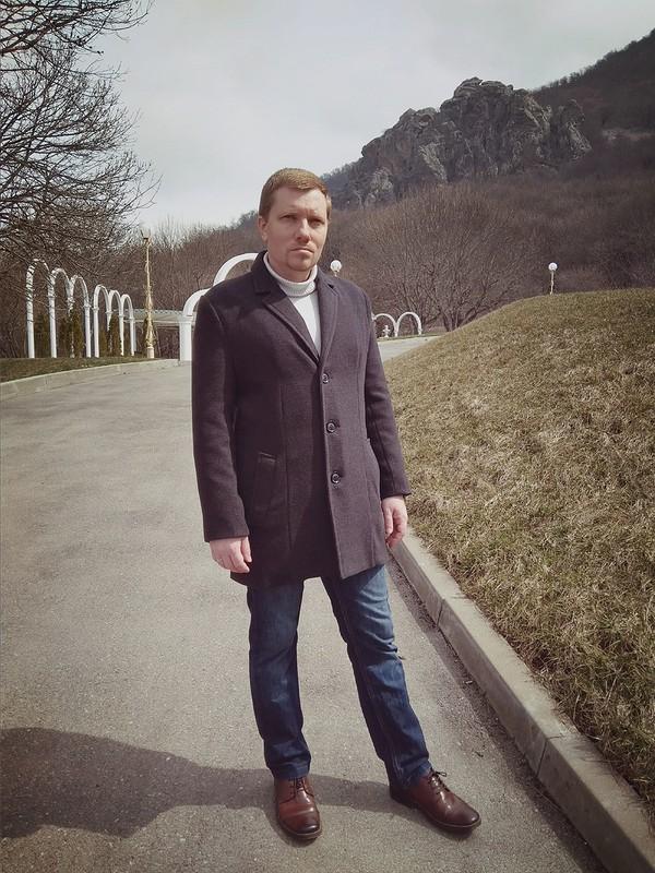 Мужское пальто от heleniqueen