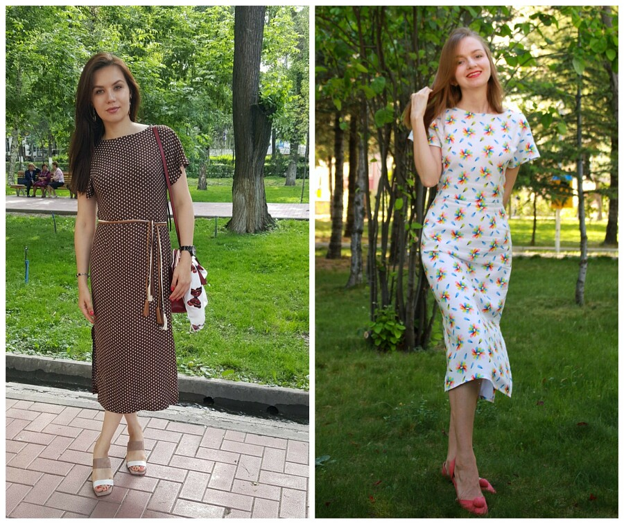 Выкройка месяца: элегантное платье налюбой случай