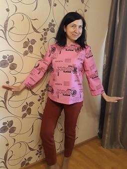 Работа с названием блуза 106