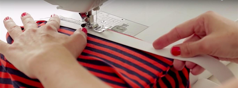 Как сшить трикотажную юбку-карандаш безвыкройки за30 минут: мастер-класс + видео