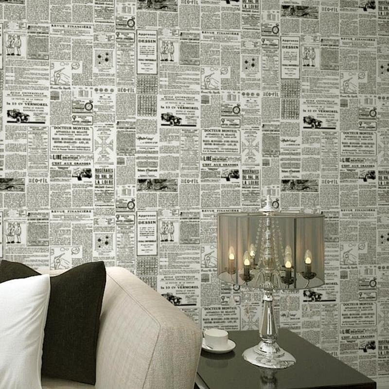 Как использовать газеты вдекорировании: 10 идей синструкциями