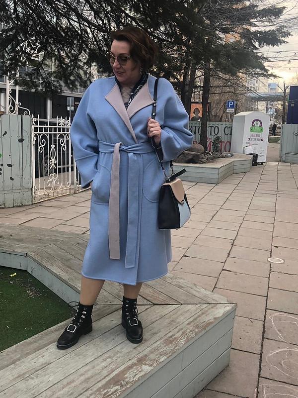 Пальто Дабл