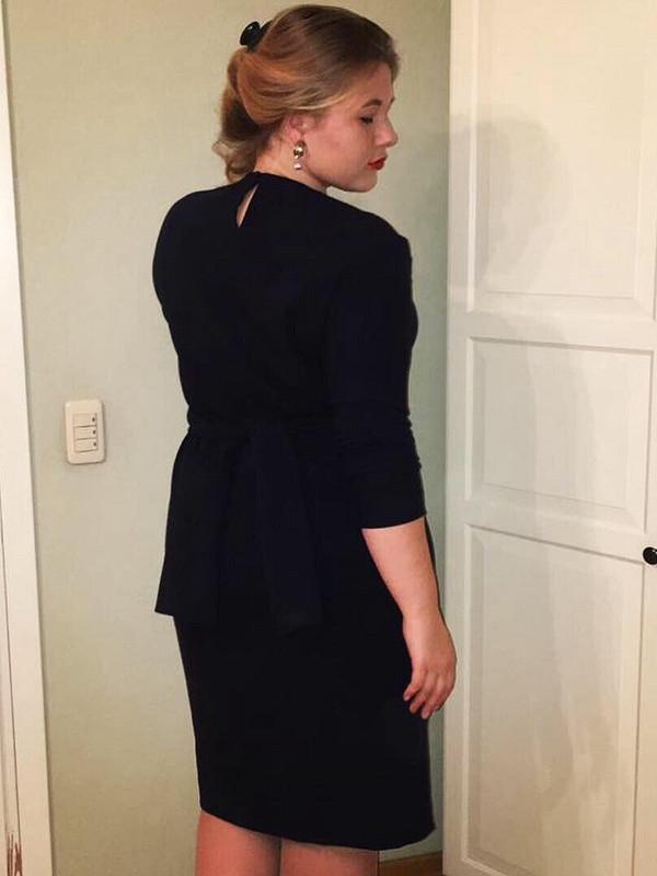 Платье сузелком +