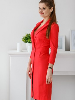 Работа с названием Деловое платье, притворное зелье))