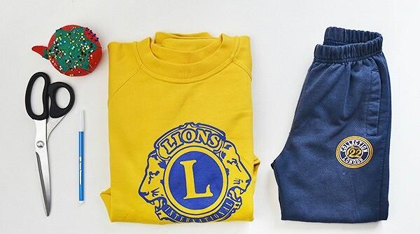 Переделка: детские спортивные штаны изтолстовки