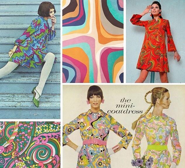 Ярко иеще ярче: любимые принты 60-х